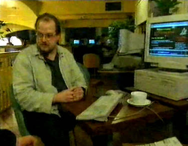 goto YouTube: 'Protest and the Net', BBC Newsnight, November 1999